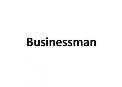 Businessman – Furniture & Decoration