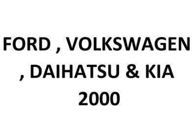 Volkswagen Commercial, Daihatsu Egypt
