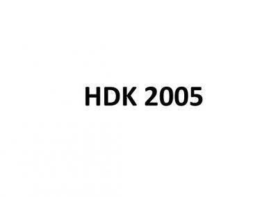 HDK 2005